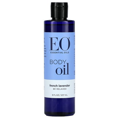 EO Products Body Oil, French Lavender, 8 fl oz (237 ml)
