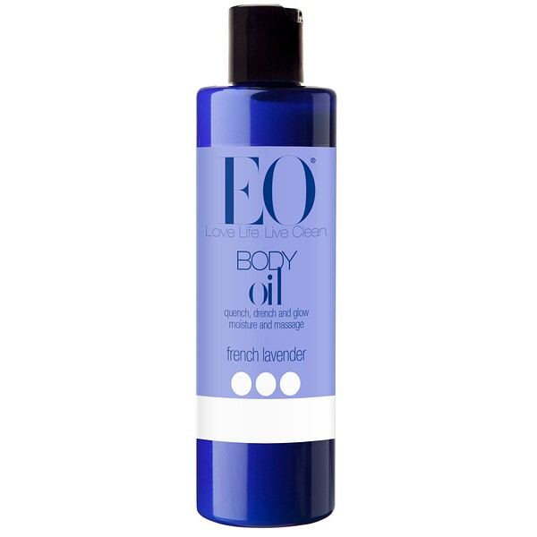 EO Products, Body Oil, French Lavender, 8 fl oz (236 ml)