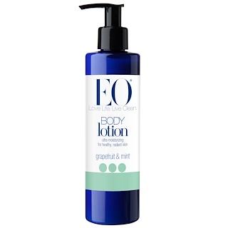 EO Products, エブリデーボディローション、 グレープフルーツ&ミント、 8液量オンス (240 ml)