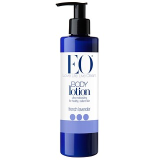 EO Products, Body Lotion, French Lavender, 8 fl oz (236 ml)