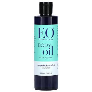 EO Products, Body Oil with Jojoba, Grapefruit & Mint, 8 fl oz (237 ml)