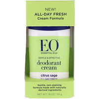 EO Products, Deodorant Cream, Citrus Sage, 1.8 oz (53 g)