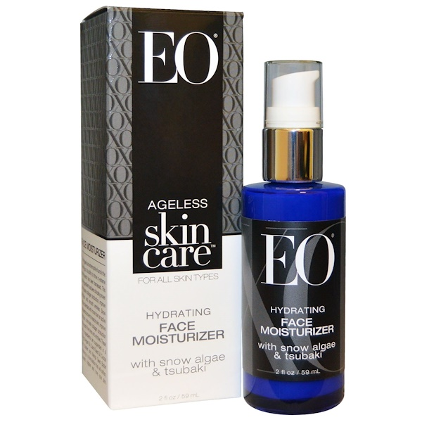 EO Products, Ageless Skin Care, Hydrating Face Moisturizer, 2 fl oz (59 ml) (Discontinued Item)