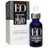 Отзывы о EO Products, Антивозрастной Уход за Кожей, Трансформирующая ночная сыворотка, 1 унция (30 мл)