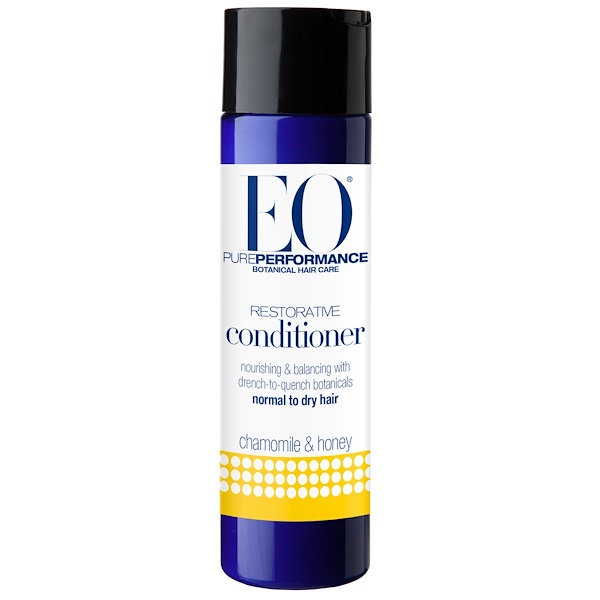 EO Products, Restorative Conditioner, Chamomile & Honey, 8.4 fl oz (248 ml) (Discontinued Item)