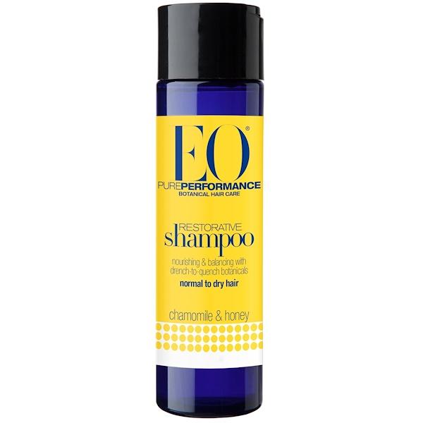 EO Products, 修復シャンプー, カモミール&ハチミツ, 8.4液量オンス(248 ml) (Discontinued Item)