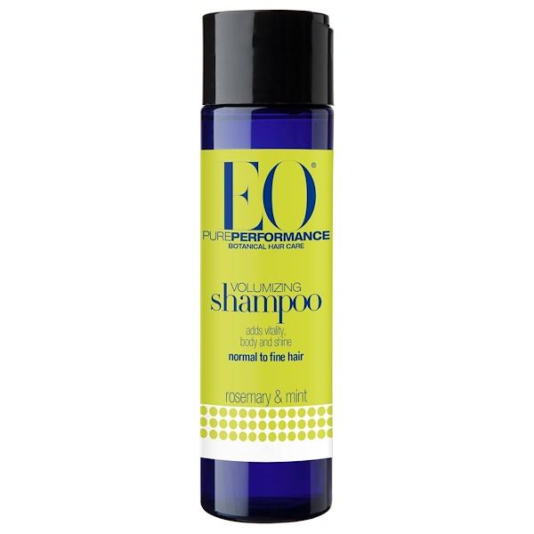 EO Products, Volumizing Shampoo, Rosemary & Mint, 8.4 fl oz (250 ml) (Discontinued Item)