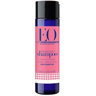 EO Products, Protective Shampoo, Rose & Chamomile, 8.4 fl oz (248 ml)