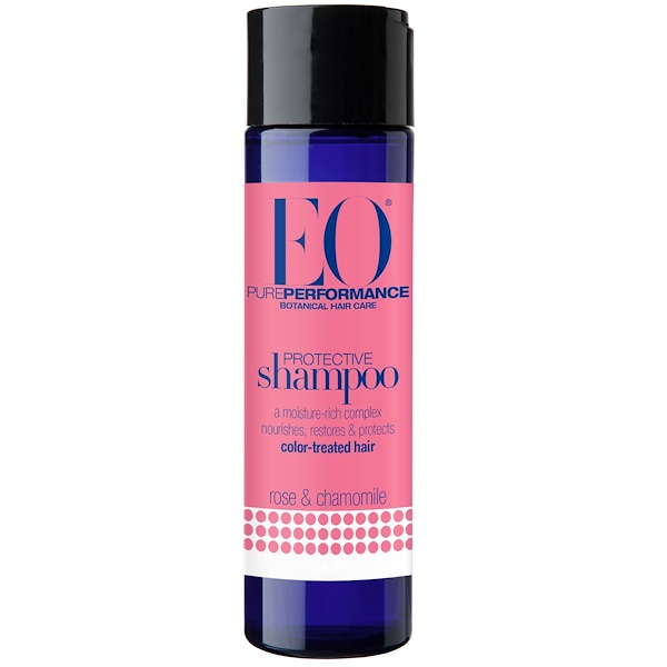 EO Products, Protective Shampoo, Rose & Chamomile, 8.4 fl oz (248 ml) (Discontinued Item)