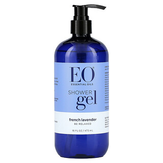 EO Products, Gel de ducha, Lavanda francesa, 473ml (16oz.líq.)