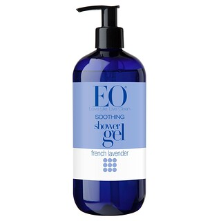 EO Products, Soothing Shower Gel, French Lavender, 16 fl oz (473 ml)