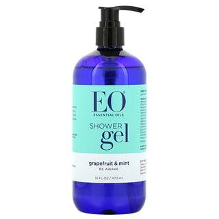 EO Products, Shower Gel, Grapefruit & Mint, 16 fl oz (473 ml)