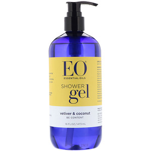EO Products, Shower Gel, Vetiver & Coconut, 16 fl oz (473 ml)