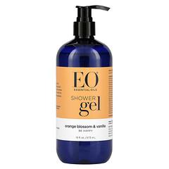 EO Products, 沐浴露,橙花和香草香味,16 液量盎司(473 毫升)