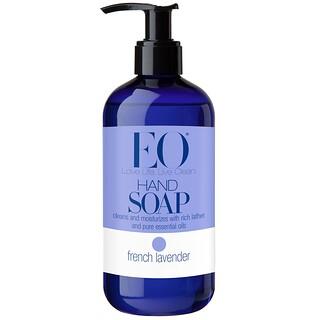 EO Products, عبوة صابون سائل، بعطر الخزامي الفرنسي، 12 أونصة سائلة (355 مل)