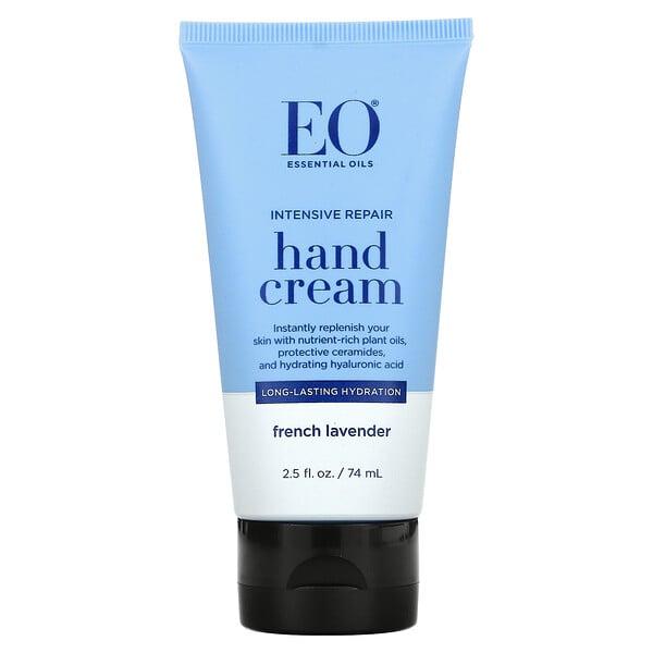 Intensive Repair Hand Cream, French Lavender, 2.5 fl oz (74 ml)
