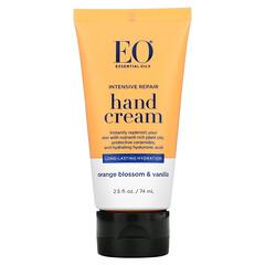 EO Products, 強化修護護手霜,橙花香草香味,2.5 液量盎司(74 毫升)