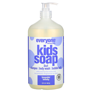 Everyone, Everyone for Every Body, 3 in 1 Kid Soap, Lavender Lullaby, 32 fl oz (946 ml)