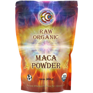 Earth Circle Organics, Raw Organic Maca Powder, 16 oz (454 g)