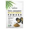 Earth Circle Organics, 100% Organic Black Maca Powder, 8 oz (226.7 g)