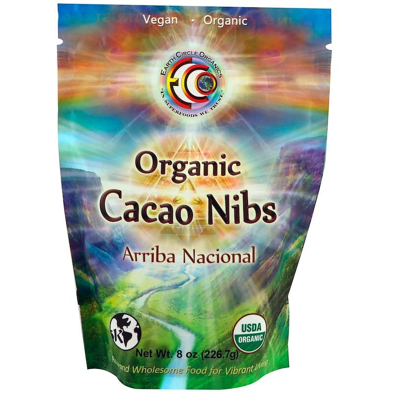 Organic Arriba Nacional Cacao Nibs, 8 oz (226.7 g)