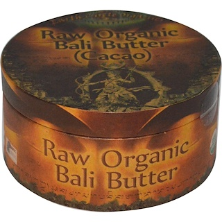 Earth Circle Organics, Raw Organic Bali Butter (Cacao), 250 g