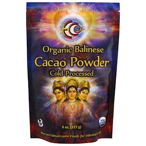 Ёрт Секл органикс, Organic Balinese Cacao Powder, 8 oz (227 g) отзывы