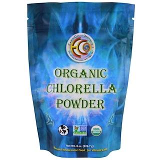 Earth Circle Organics, オーガニッククロレラパウダー , 8 oz (226.7 g)