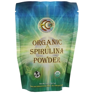 Earth Circle Organics, Organic Spirulina Powder, 8 oz (226.7 g)