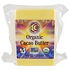 Earth Circle Organics, Organic Cacao Butter, 1 lb (453.4 g) (Discontinued Item)