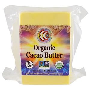Ёрт Секл органикс, Organic Cacao Butter, 1 lb (453.4 g) отзывы покупателей