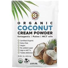 Earth Circle Organics, 有機椰子奶油粉,1 磅(453.4 克)