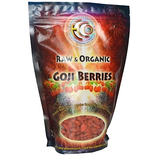 Earth Circle Organics, Goji Berries, Raw & Organic, 16 oz (454 g)