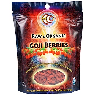 Earth Circle Organics, Raw & Organic Goji Berries, 8 oz (227 g)