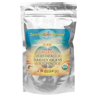 Earth Circle Organics, Raw Organic Dehydrated Barley Grass Juice Powder, 4 oz (113.4 g)
