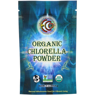 Earth Circle Organics, Organic Chlorella Powder, 4 oz (113.4 g)