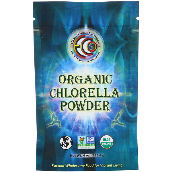 Organic Chlorella Powder, 4 oz (113.4 g)