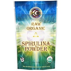 Earth Circle Organics, Raw Organic Spirulina Powder, 4 oz (113 g)