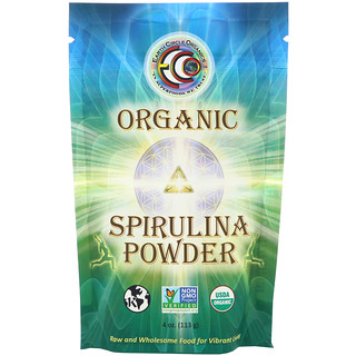 Earth Circle Organics, Organic Spirulina Powder, 4 oz (113 g)