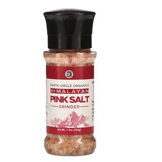 Earth Circle Organics, Himalayan Pink Salt Grinder, 7.9 oz (224 g)