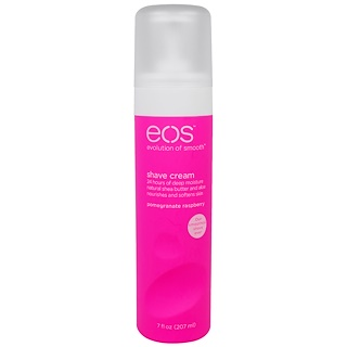EOS, Shave Cream, Pomegranate Raspberry, 7 fl oz (207 ml)