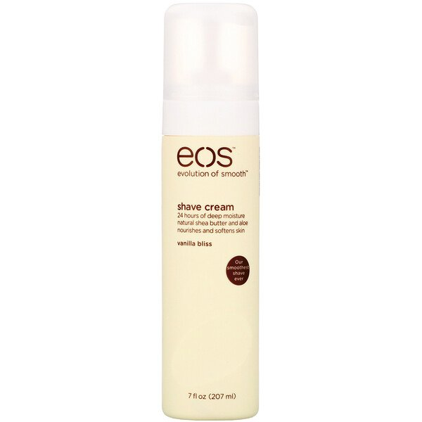 EOS, Shave Cream, Vanilla Bliss, 7 fl oz (207 ml)