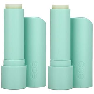 EOS, Organic 100% Natural Shea Lip Balm, Sweet Mint, 2 Pack, 0.14 oz (4 g) Each