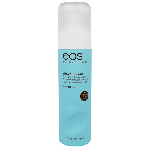 EOS, Shave Cream, Tropical Fruit, 7 fl oz (207 ml) (Discontinued Item)