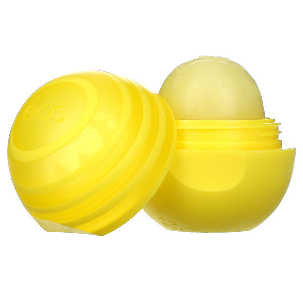 EOS, Shea Sunscreen Lip Balm with SPF 15, Lemon Twist, .25 oz (7 g)