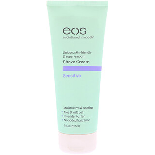 EOS, Shave Cream, Sensitive, 7 fl oz (207 ml )
