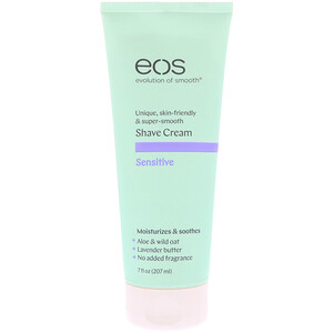 ИОС, Shave Cream, Sensitive, 7 fl oz (207 ml ) отзывы