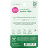 EOS, Organic 100% Natural Shea Lip Balm, Lippenbalsam mit 100% natürlicher Bio-Sheabutter, tropische Mango, 7g (0,25oz.)