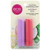 EOS, Super Soft Shea Lip Balm, Toasted Marshmallow & Coconut Milk, 2 Pack,  0.14 oz (4 g) Each