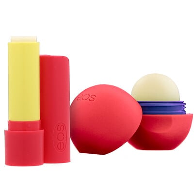 Купить EOS Мягкий бальзам для губ с ши, кокосовое молоко и ваниль с вишней, 2 шт. в упаковке, 11 г (0, 39 унции)